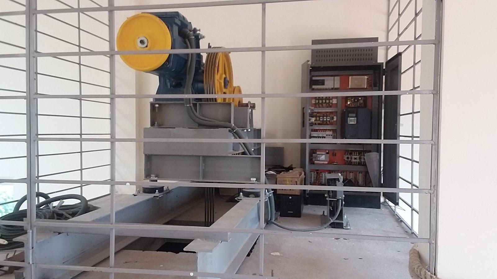 Máy kéo thang máy mitsubishi chất lượng hàng đầu
