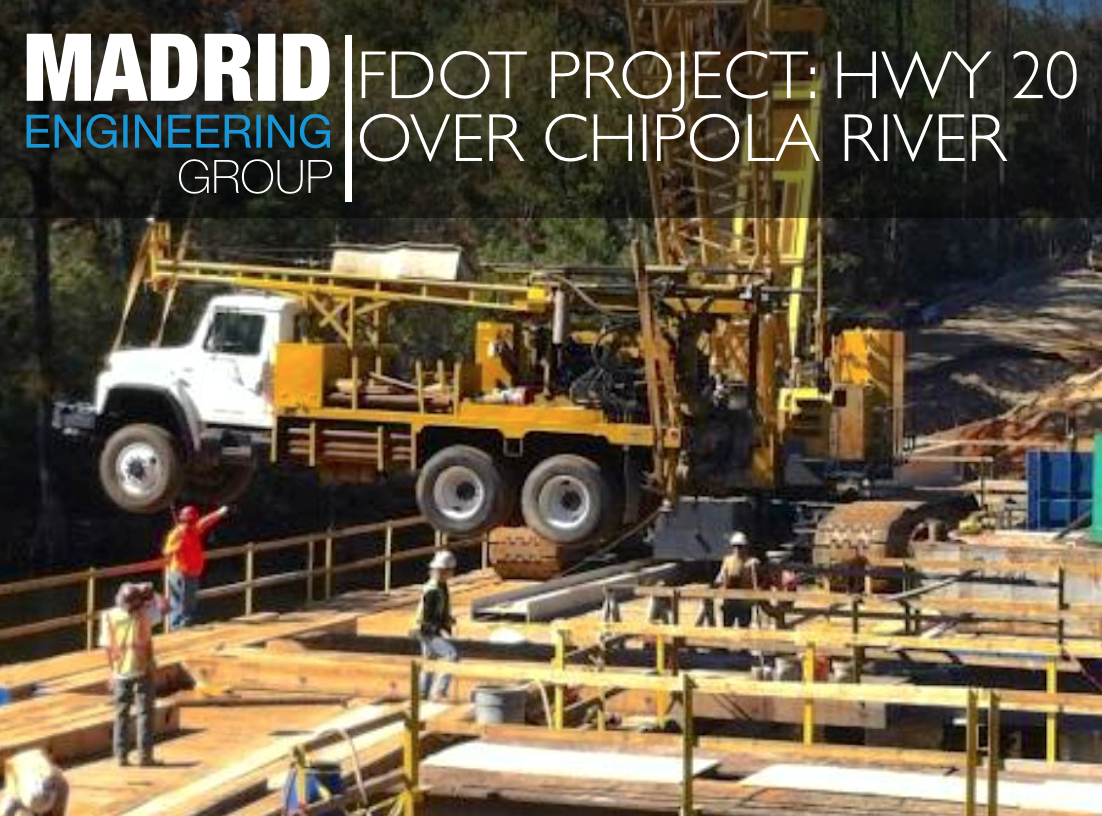FDOT Project: HWY 20 Over Chipola River | Madrid Engineering