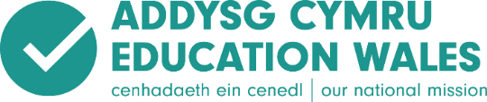 Image result for education wales logo