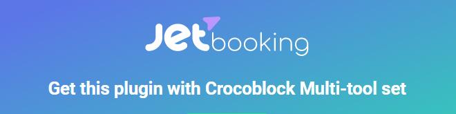 JETbooking crocoblock