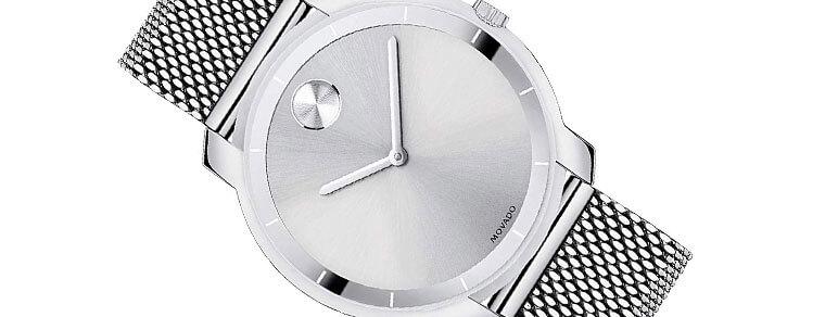 minimalist Movado watch