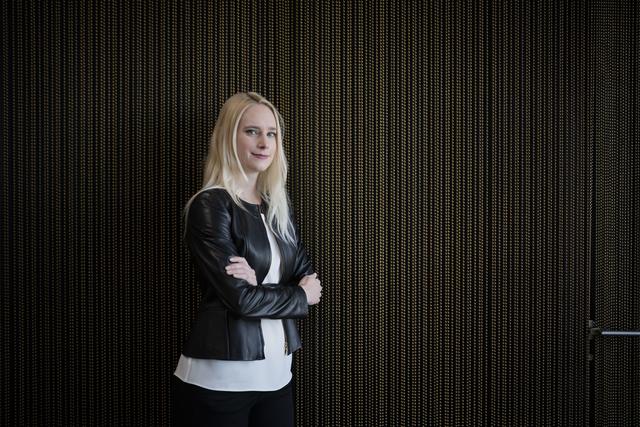 Die Dirigentin Lena-Lisa Wüstendörfer hat einst als Assistentin von Claudio Abbado begonnen. Foto: Urs Jaudas