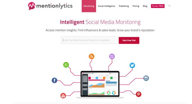 Mentionlytics Лучшие сервисы мониторинга социальных сетей в 2020