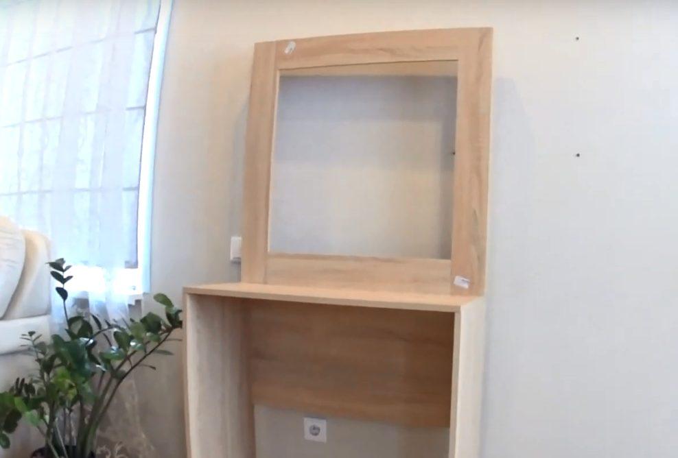 Простой столик, который можно сделать быстро и дешево