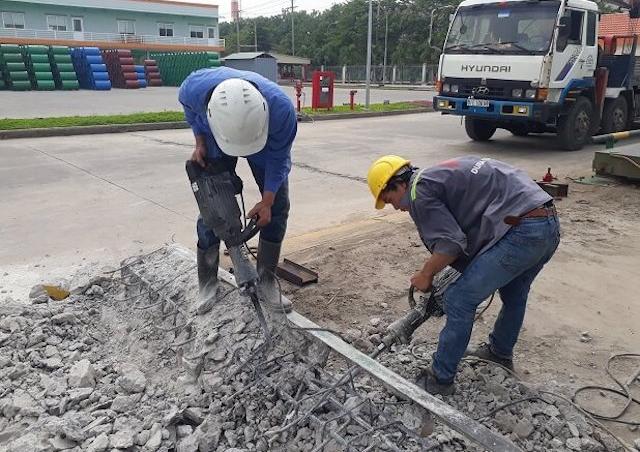 Dịch vụ khoan cắt bê tông tại đơn vị chúng tôi được nhiều chủ thầu xây dựng lựa chọn