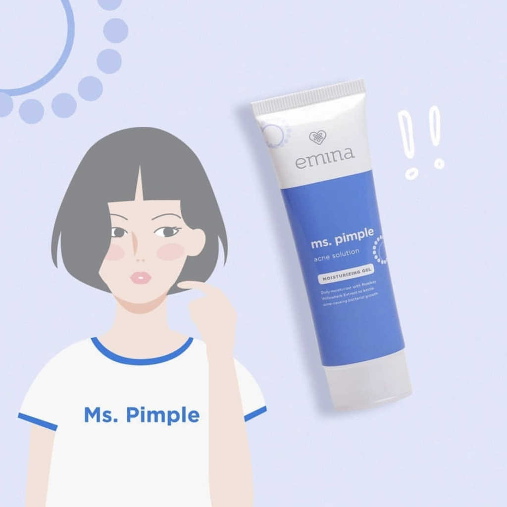 emina ms pimple untuk jerawat