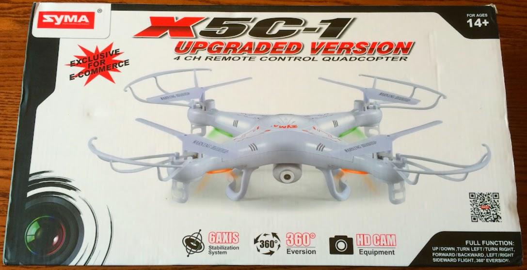 SYMA Quadcopter Box