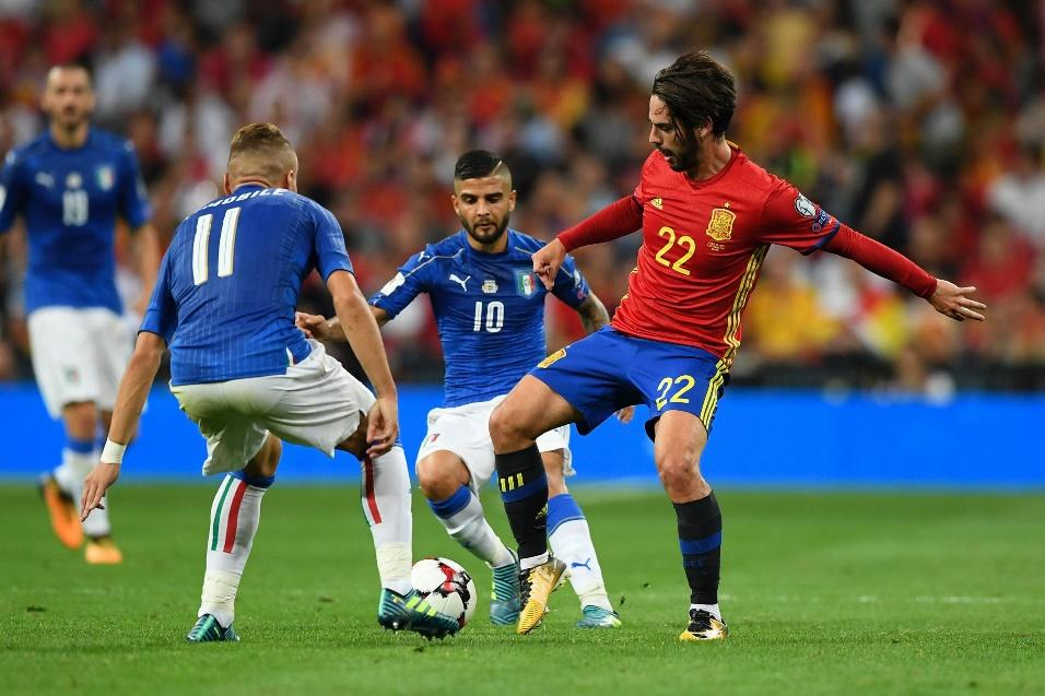 Ở lần đối đầu gần nhất Tây Ban Nha đã thắng Italy 3-0