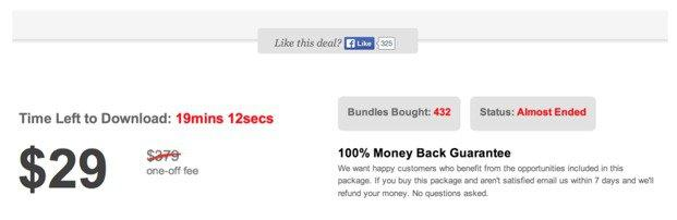 Urgency generating Product Bundle for better eCommerce Conversions