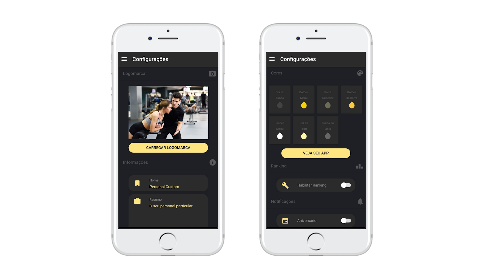 Aplicativo para consultoria online Nexur