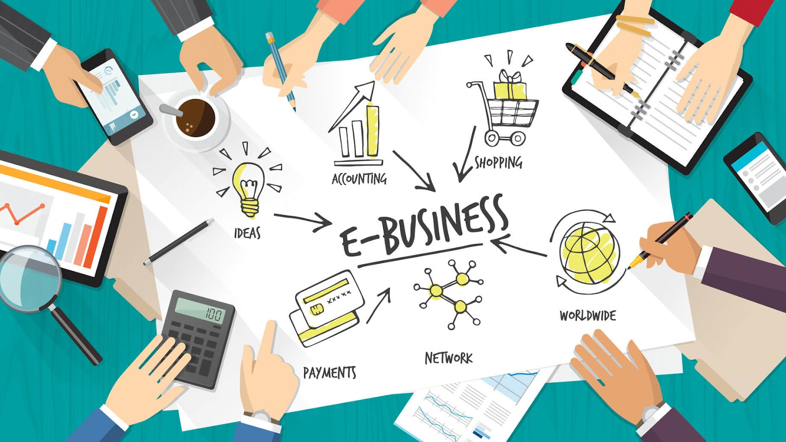 definition of Ecommerce business