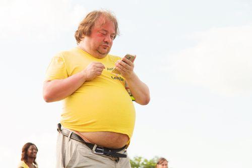 容易打呼特徵6:肥胖、後咽部脂肪堆積