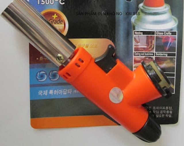 Đèn khò cam Hàn Quốc có công tắc đánh lửa tự động