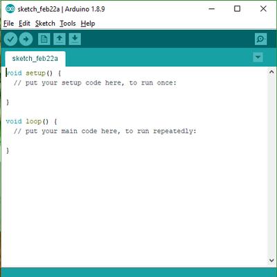 Cấu trúc của Arduino IDE