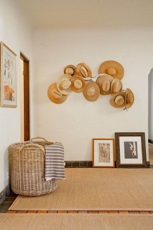 Utilize a Large Empty Wall For Storage large wall decor ideas