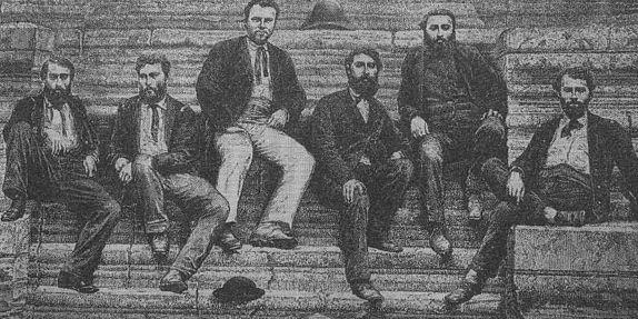 The members of the Mekong Expedition of 1866-1868