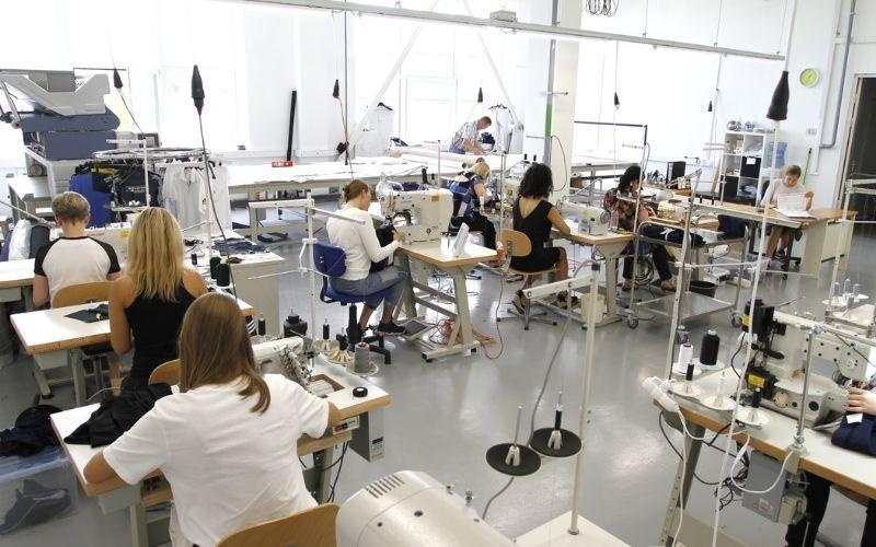 Nhà xưởng ngành dệt may