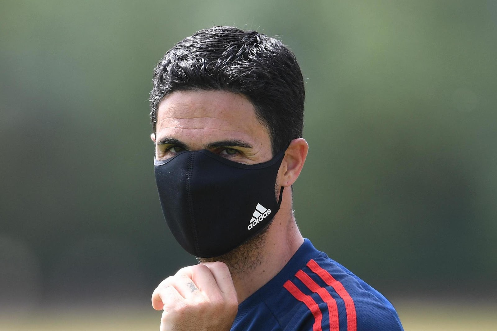 Latest pictures: Arsenal stars hit training as Mikel Arteta sports ...