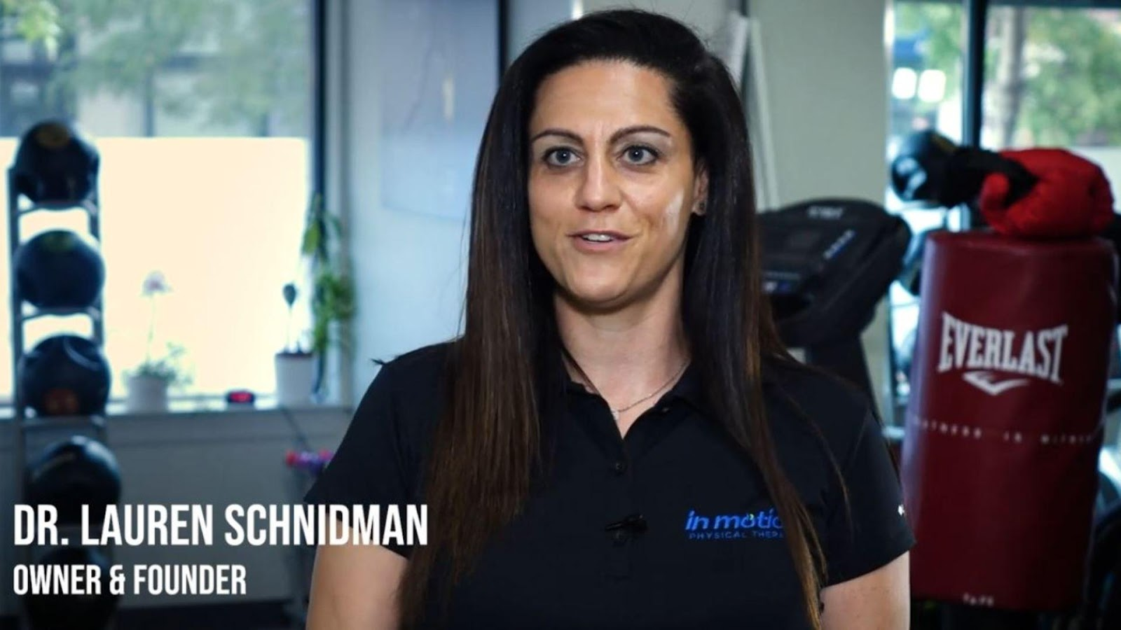 Dr. Lauren Schnidman of In Motion Physical Therapy Chicago
