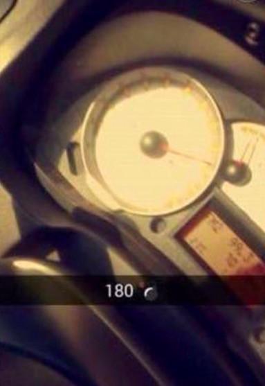 Impresionante video de sesión de Snapchat que terminó de manera trágica