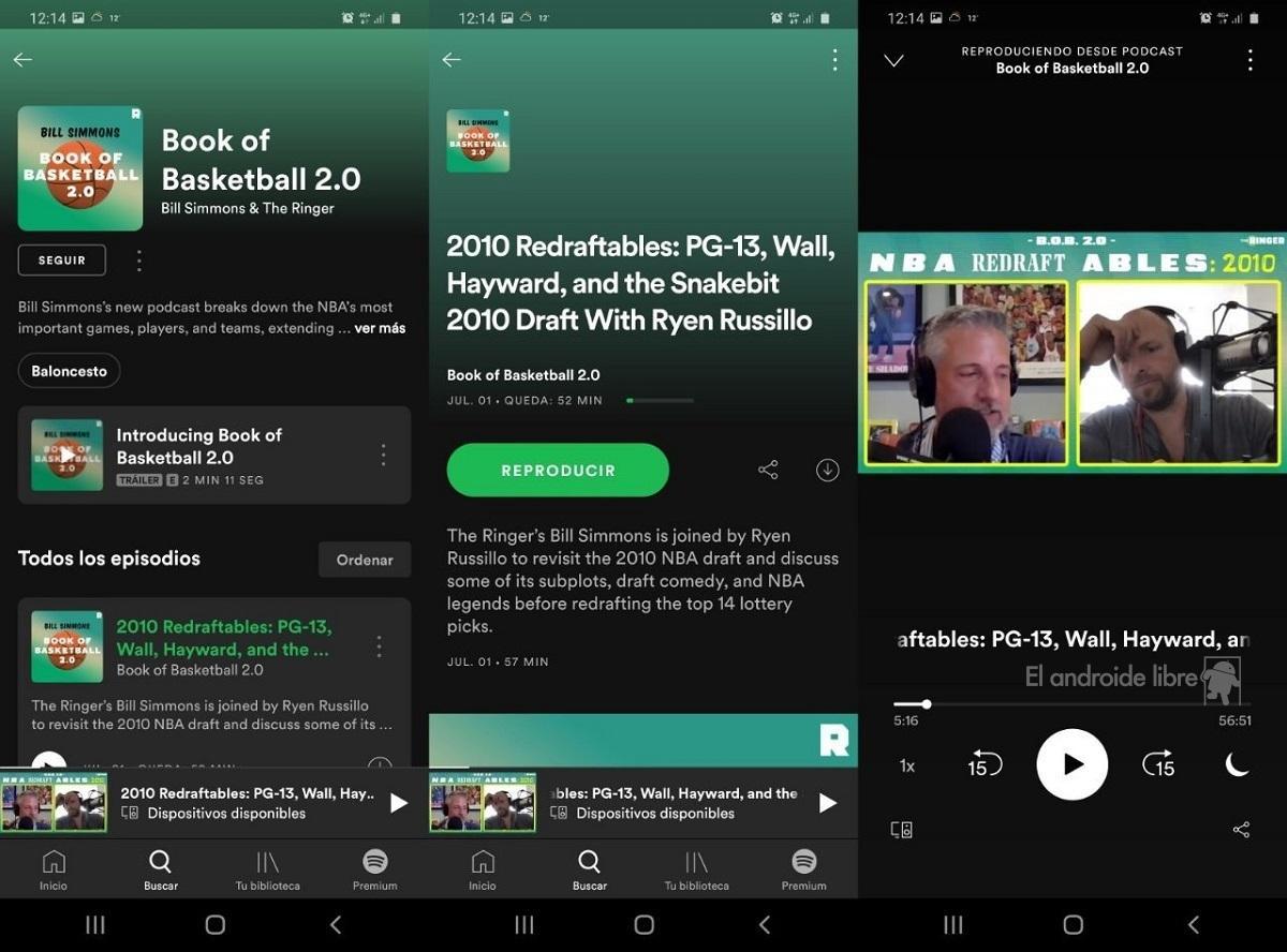 Spotify ya tiene podcasts en vídeo: así puedes verlos