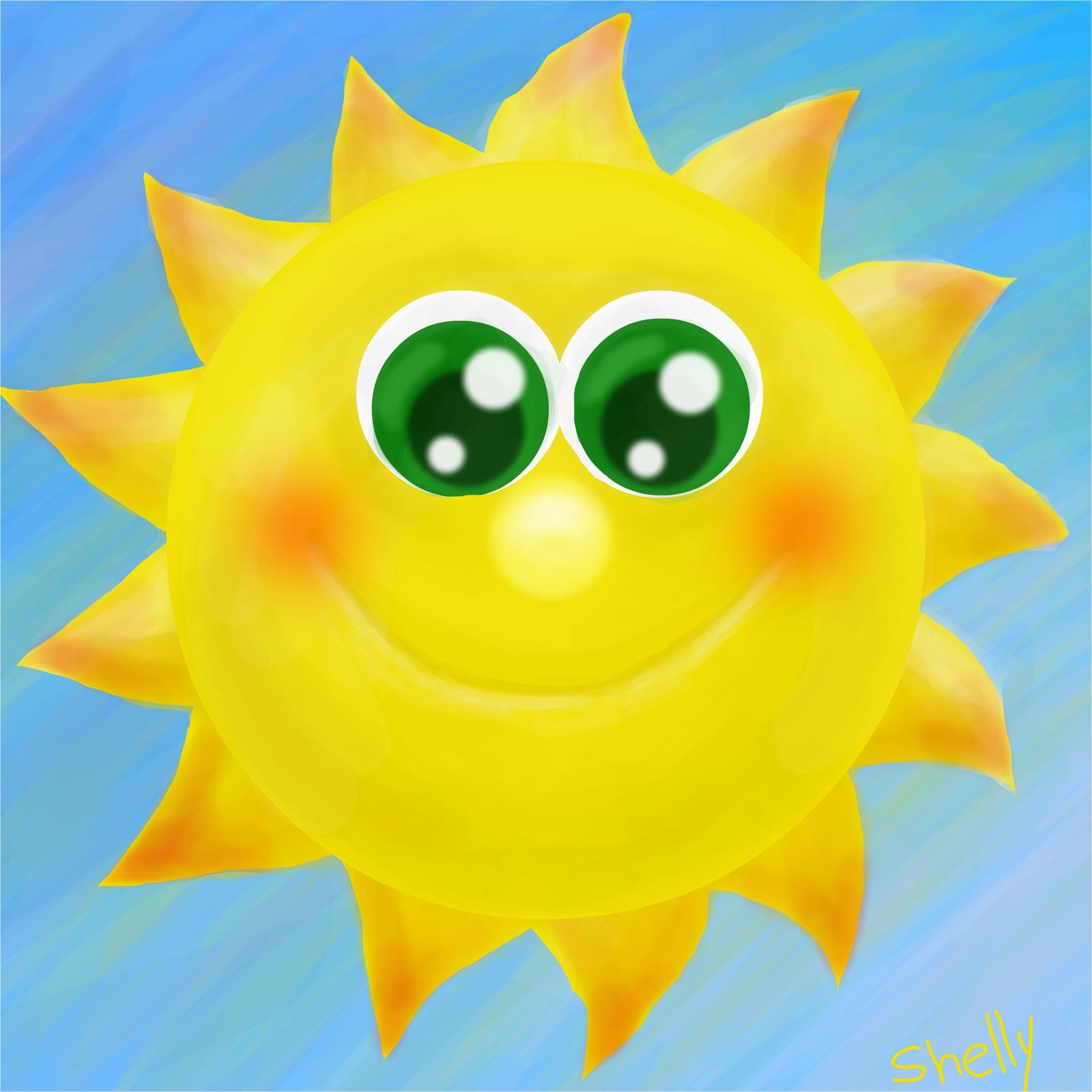 Mr. Golden Sun (Sunlight Challenge) » drawings » SketchPort