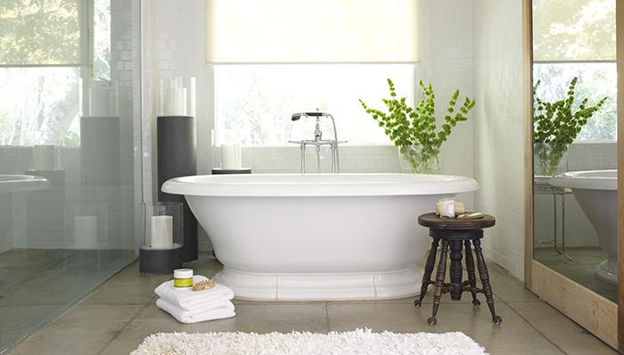 Bathroom and garden tub