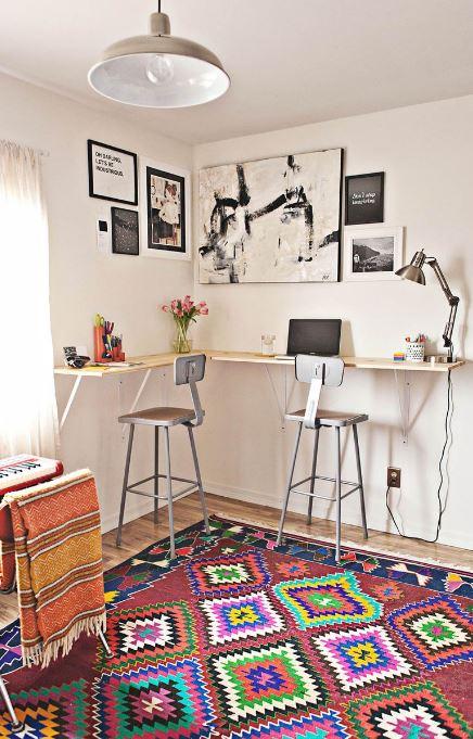Plan de escritorio de pie de bricolaje