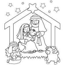 Resultado de imagen de dibujos de nacimientos de navidad