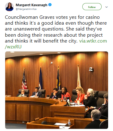 Norfolk City Council Votes In Favor Of Casino
