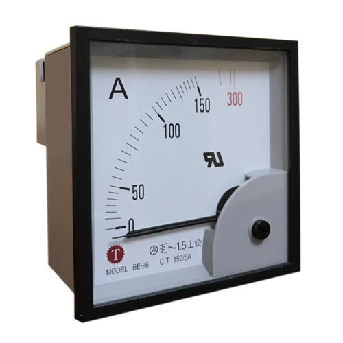 Đồng hồ đo dòng điện (Ampe kế) BE-96 150/5A Taiwan Meter