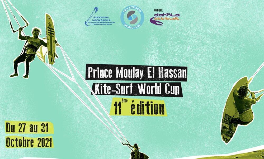 Dakhla acceuille la 11è édition du championnat mondial Prince Moulay El  Hassan de Kitesurf - InfoMaroc
