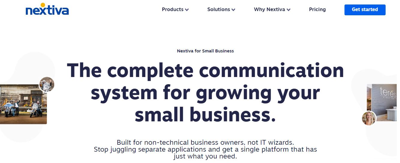 Nextiva is one of the Small Business Phone Services