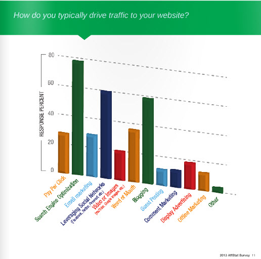 How Do You Typically Drive Traffic to your Web Site