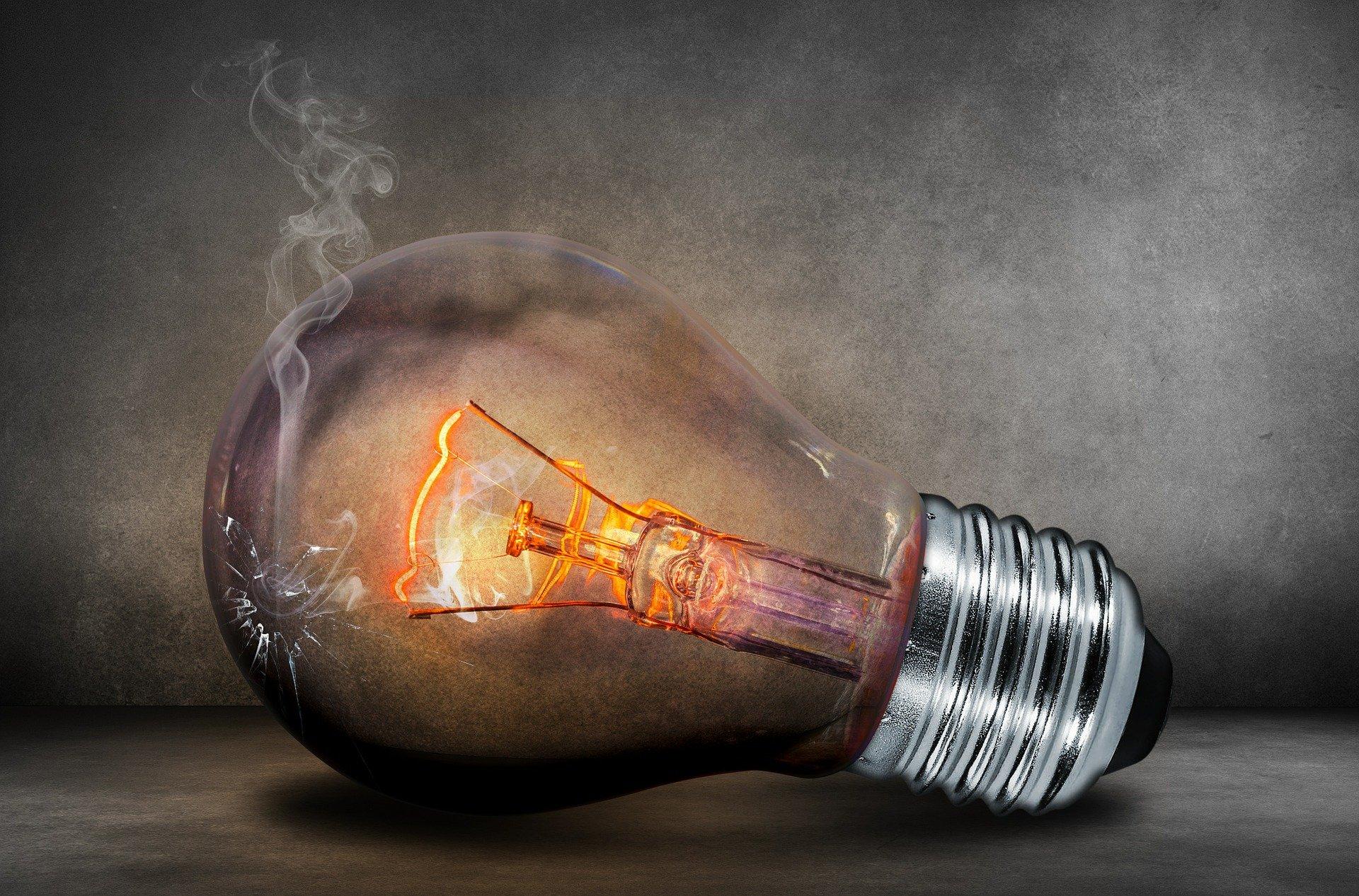 Ampoule grillée