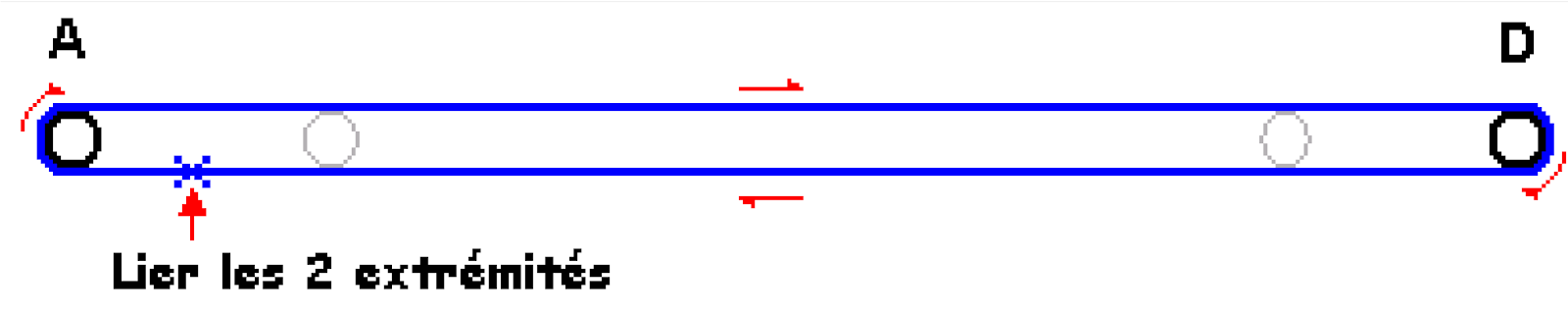 archers de beauchamp gabarit corde arc