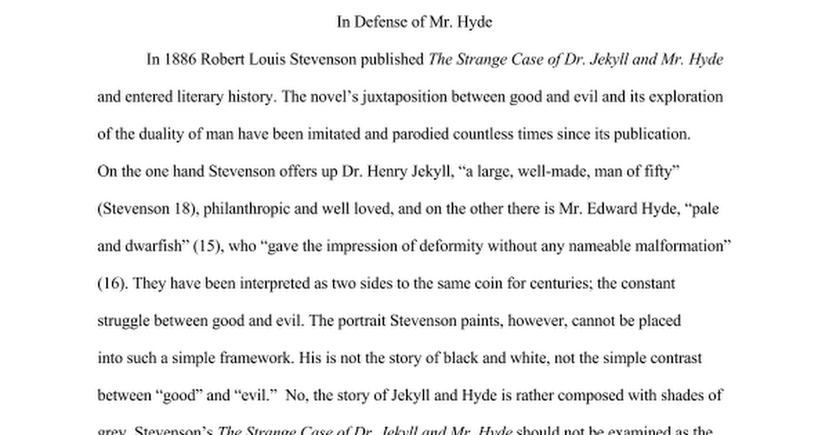 british lit jekyll hyde paper google docs
