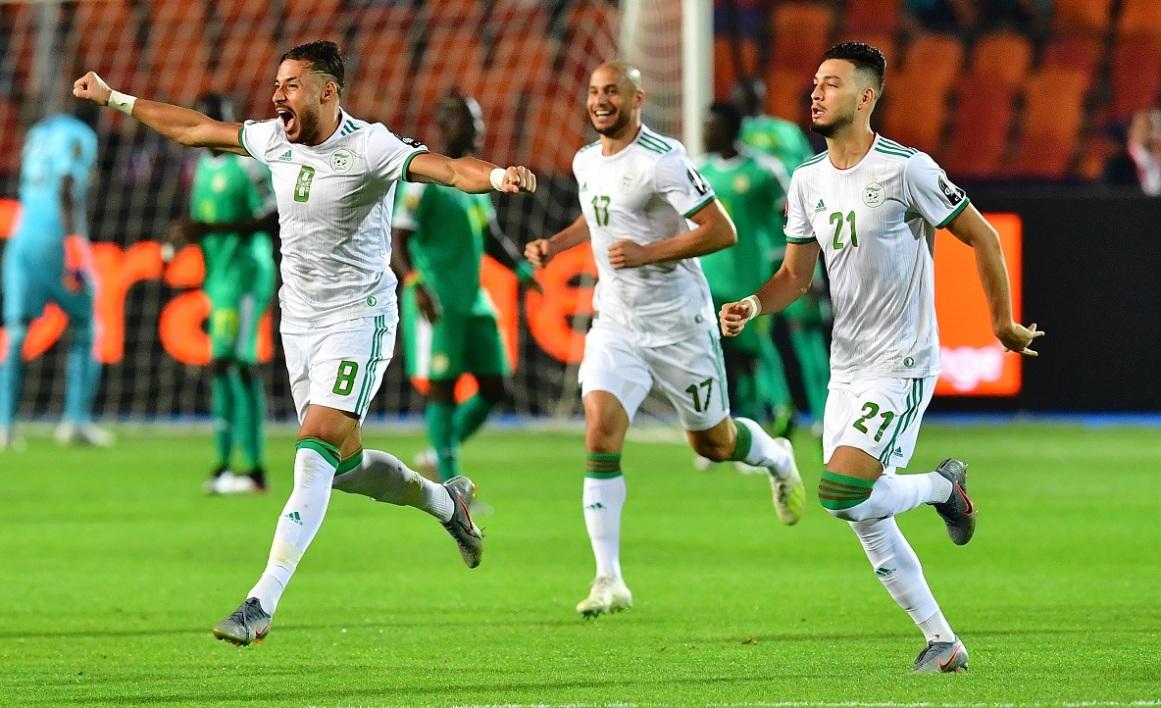 Сборная Алжира по футболу чемпион Африки 2019