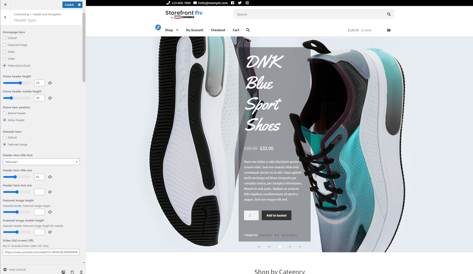 Adding Featured products to WooCommerce background