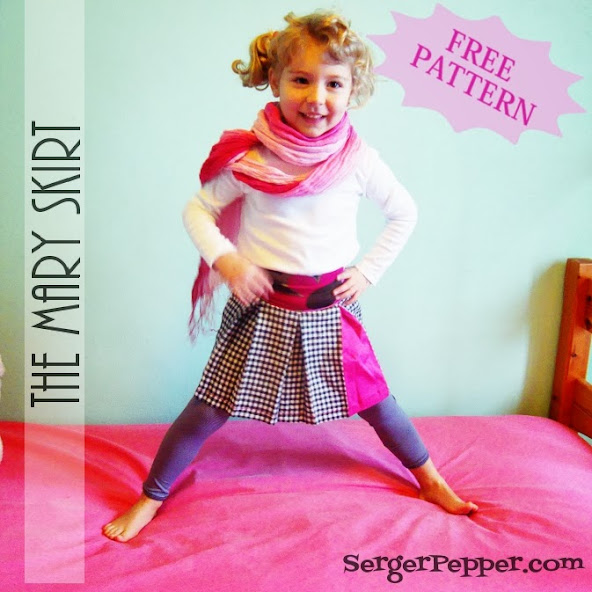 Serger Pepper - 2013 Wrap Up - 5 must read sewing posts - My favorite! - free mary skirt