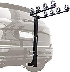 hitch bike rack with ramp