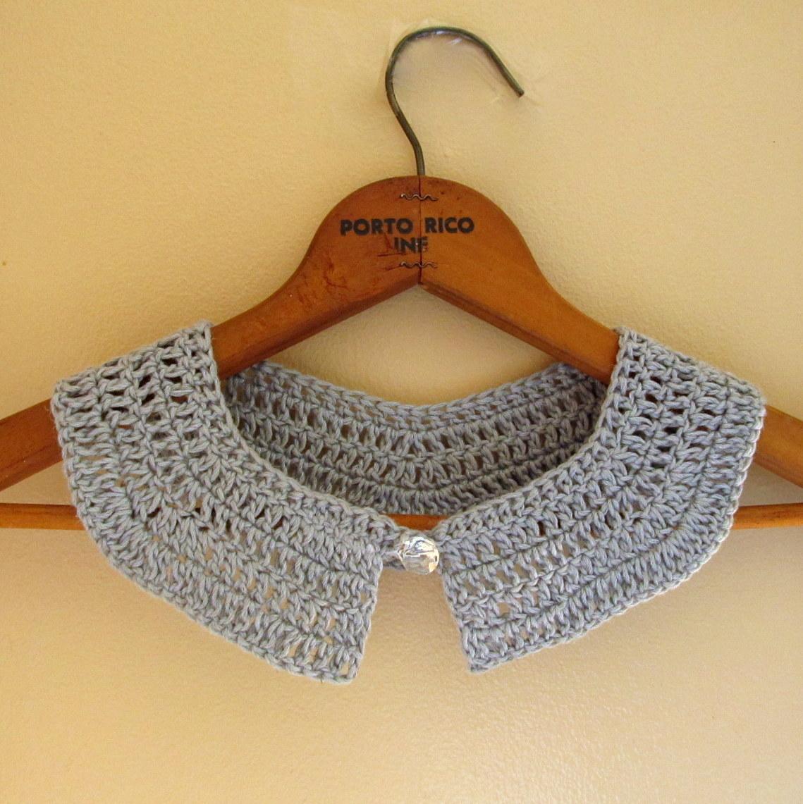 LazyTcrochet: Crochet Collar from LazyTcrochet