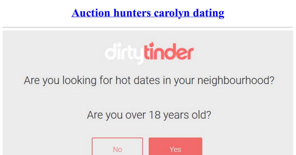 auction hunters carolyn