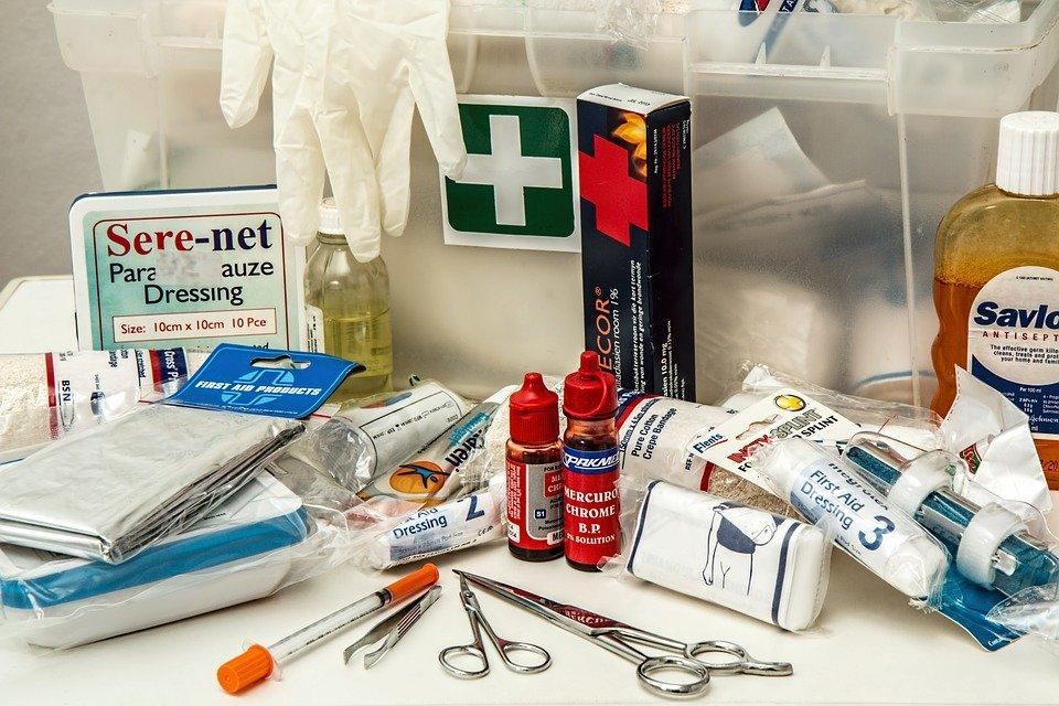 First Aid, Kit, First Aid Kit, Medical, Emergency