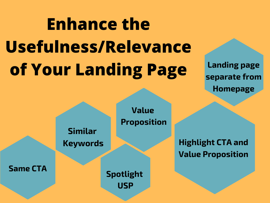 Enhance Relevance of Your Landing Page