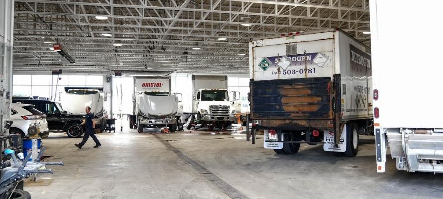Somerville Hino truck service centre GTA