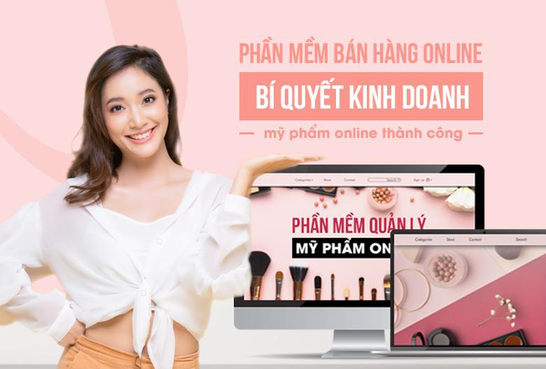 phần mềm bán hàng mỹ phẩm online