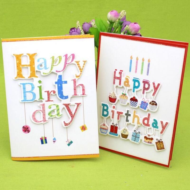 Clear Handmade Birthday Cards Using Minimal