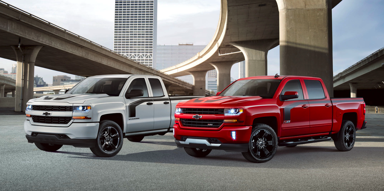 The Silverado 1500 Rally 1 And 2 Editions Are Available In Black Summit White Red Hot Silver Ice Metallic These Special Edition Trucks Put A