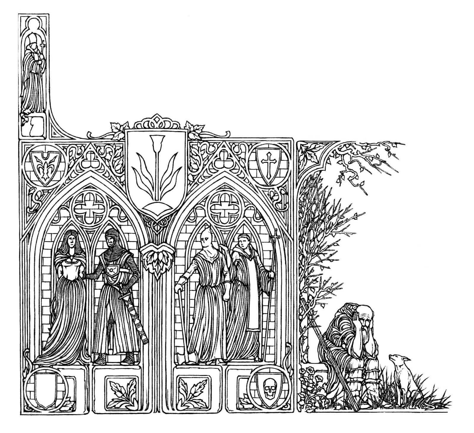 GÓTIKUS SAROKDÍSZ III (WITCHES VII).jpg